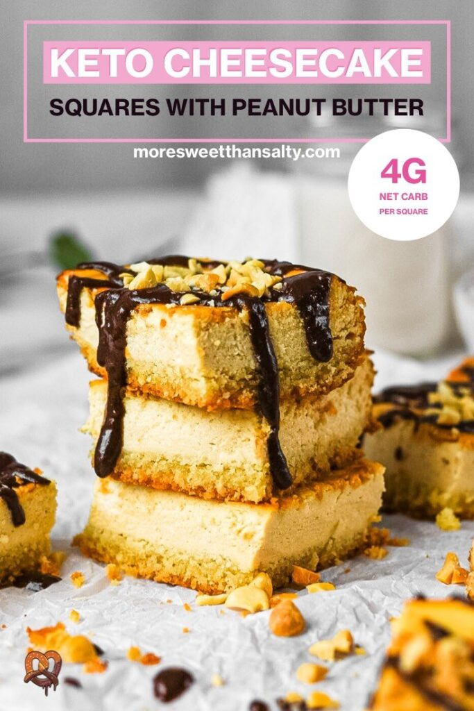 moresweetthansaly.com-keto -cheesecake-squares-peanut-butter-squares-creamy-chocolate-pinterest