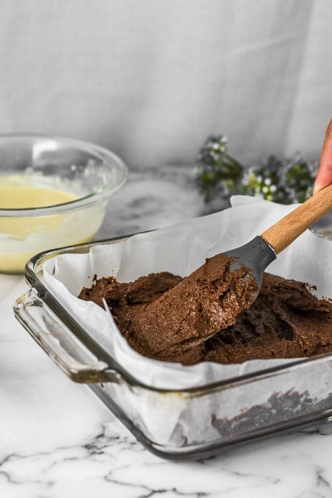 moresweetthansalty.com-keto-cream-cheese-swirl-brownie-batter