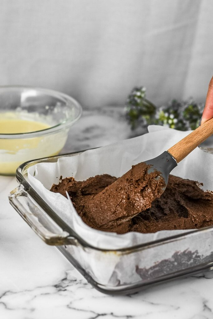 moresweetthansalty.com-keto-cream-cheese-swirl-brownie-batter