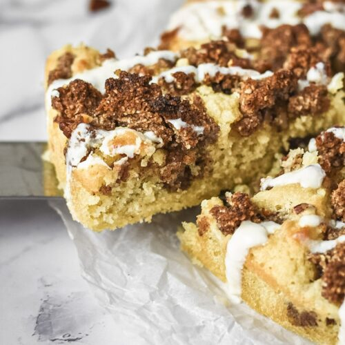 moresweetthansalty.com-keto-cinnamon-roll-coffee-cake-peacan-cream